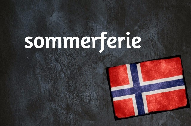 Norwegian word of the day: sommerferie
