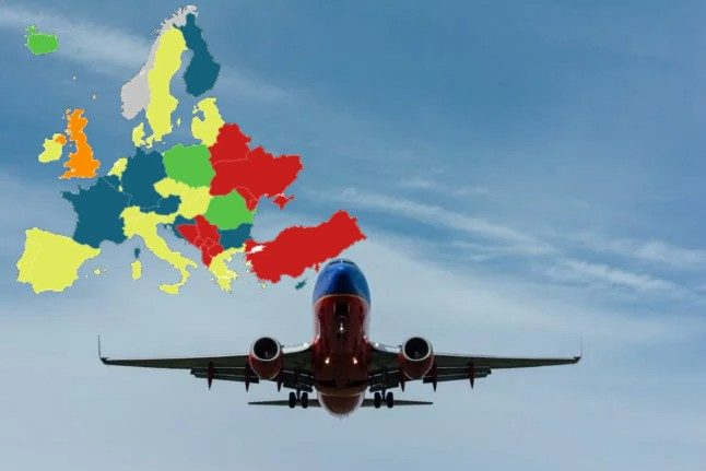 MAP: What are Norway's Covid-19 entry rules for European countries?
