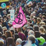 Climate activists stage protests in Oslo as part of week-long demonstrations