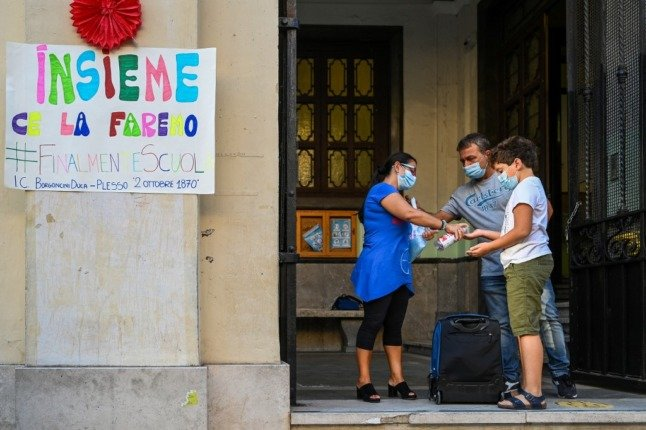 Quarantined students put Italy's schools at risk of Covid closures, says health expert