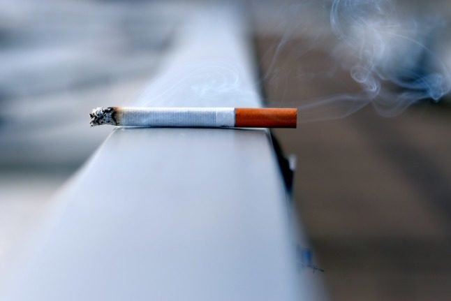 Smoking will burn an even bigger hole in your pocket if the tax increase is introduced. Pictured is a cigarette.
